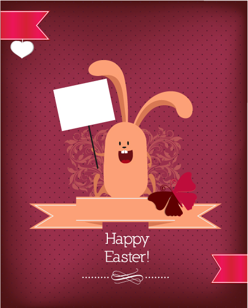 Bunny Vector Design Easter Vector Illustration  Easter Bunny 2015 05 05 842