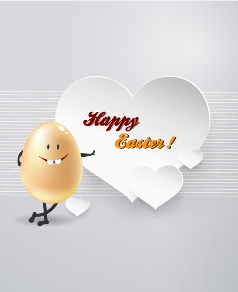 Amazing Easter Vector Graphic: Easter Illustration With Easter Egg 3