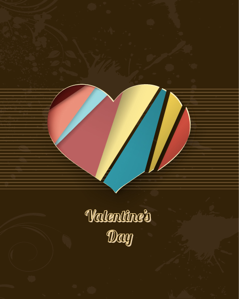 Valentine's Day vector illustration 2015 05 05 909