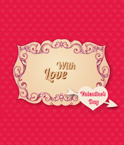 Valentine's Day vector illustration 2015 05 05 915