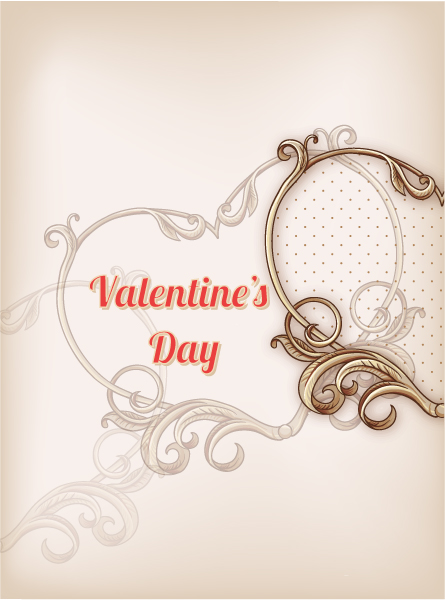 Frame Vector Graphic Valentines Day Vector Illustration 2015 05 05 917