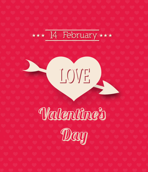 Striking Creative Vector Image: Valentines Day Vector Image Illustration 1