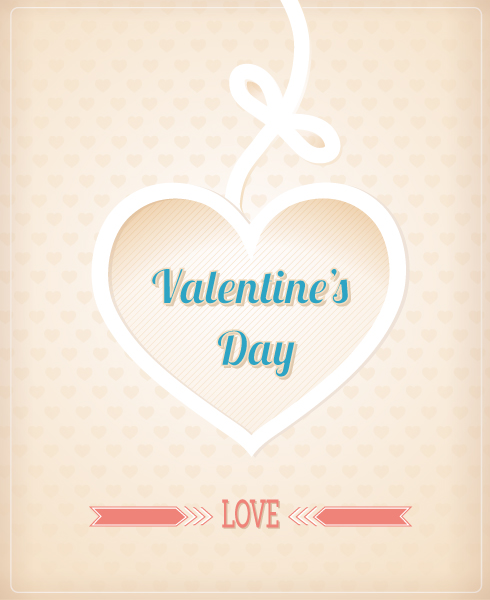 Valentine's Day vector illustration Vector Illustrations vector