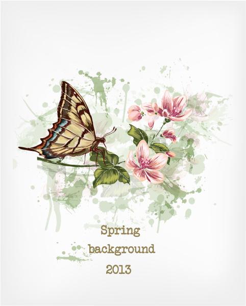 floral vector illustration 5