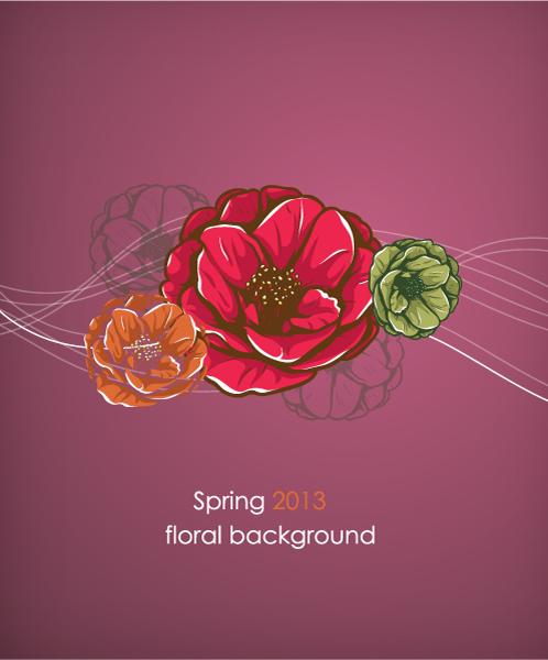 floral vector illustration 2015 05 05 991