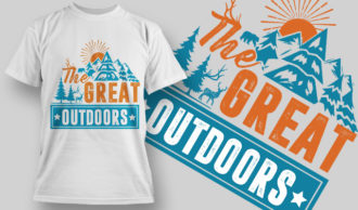 Designious-tshirt-design 1531 T-shirt Designs and Templates vector
