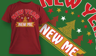 designious-tshirt-design-1527 T-shirt Designs and Templates t-shirt, vector, new year, new year resolution, happy new year, funny