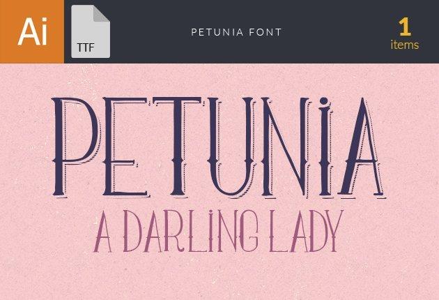 Free T-shirt Design Creator Tool designtnt fonts petunia small1