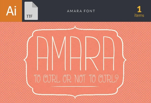 Free T-shirt Design Creator Tool fonts amara preview small1