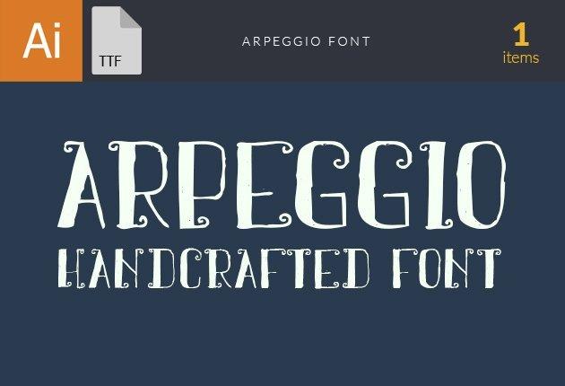 Free T-shirt Design Creator Tool fonts arpeggio small1