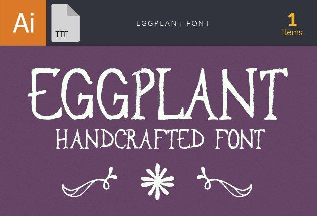Free T-shirt Design Creator Tool fonts eggplant small1