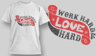 Free Valentine's Day T-shirt Design 1572 T-shirt Designs and Templates LOVE