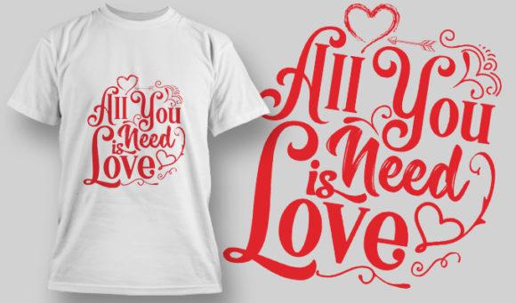 Designious-tshirt-design 1574 T-shirt Designs and Templates LOVE