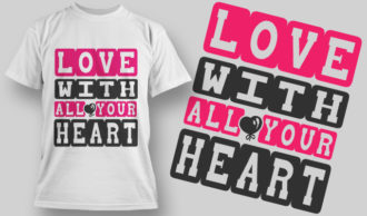 Designious-tshirt-design 1582 T-shirt Designs and Templates LOVE