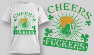 Designious-tshirt-design 1588 T-shirt Designs and Templates lucky