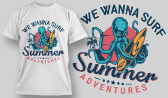 Designious-tshirt-design 1595 T-shirt Designs and Templates vacation