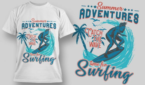 Designious-tshirt-design 1596 T-shirt Designs and Templates vacation