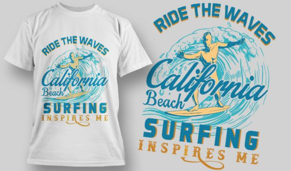 Designious-tshirt-design 1597 T-shirt Designs and Templates vacation