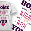 Valentines Day T-Shirt Design 9 T-shirt Designs and Templates vector