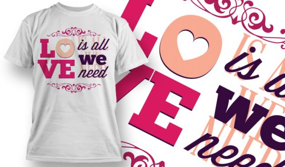 Valentines Day T-Shirt Design 14 T-shirt Designs and Templates vector