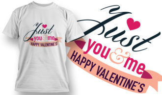 Valentines Day T-Shirt Design 20 T-shirt Designs and Templates vector