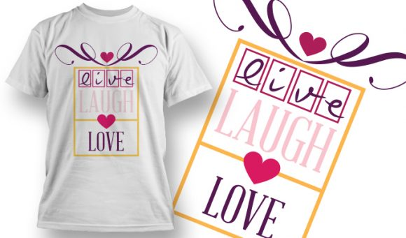 Valentines Day T-Shirt Design 21 T-shirt designs and templates vector