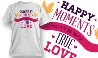 Valentines Day T-Shirt Design 3 T-shirt Designs and Templates vector