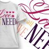 Valentines Day T-Shirt Design 39 T-shirt Designs and Templates vector