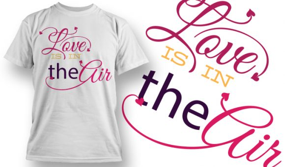 Valentines Day T-Shirt Design 36 T-shirt designs and templates vector