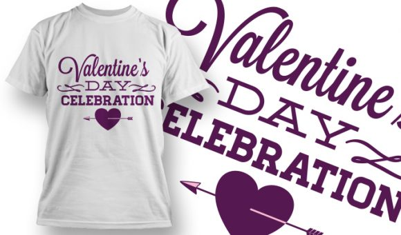 Valentines Day T-Shirt Design 46 T-shirt Designs and Templates vector