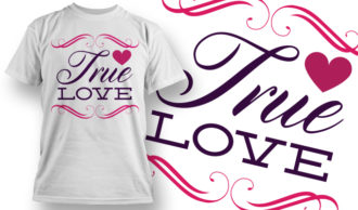 Valentines Day T-Shirt Design 5 T-shirt Designs and Templates vector