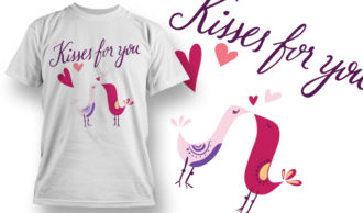 Valentines Day T-Shirt Design 82 T-shirt Designs and Templates vector