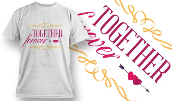 Valentines Day T-Shirt Design 6 T-shirt Designs and Templates vector