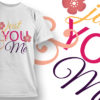 Valentines Day T-Shirt Design 7 T-shirt Designs and Templates vector