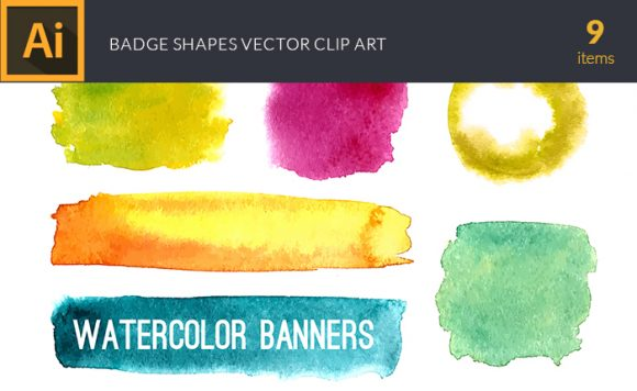 Watercolor Berries Vector Clipart Watercolor vector