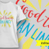 Funny T-Shirt Design 5 T-shirt Designs and Templates vector