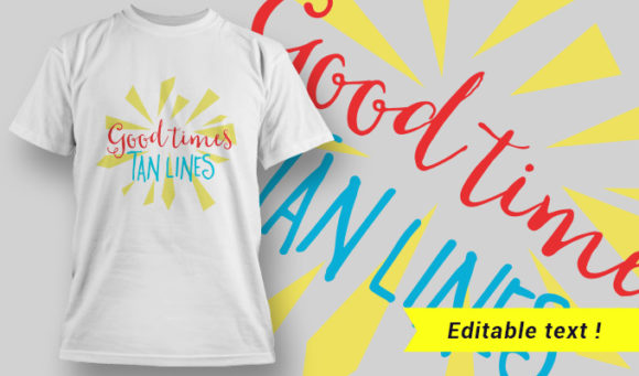 Funny T-Shirt Design 6 T-shirt Designs and Templates vector