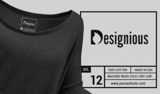 T-shirt Vector Label 1 Freebies vector