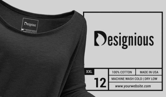 T-shirt Vector Label 1 Freebies vector