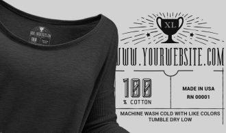 T-shirt Vector Label 10 Freebies vector