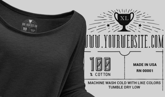 T-shirt Vector Label 10 designious tshirt tag 10