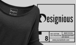 T-shirt Vector Label 6 Freebies vector