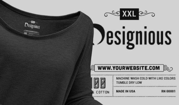 T-shirt Vector Label 7 Freebies vector
