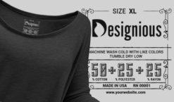 T-shirt Vector Label 8 Freebies vector