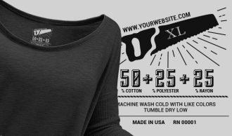T-shirt Vector Label 9 Freebies vector