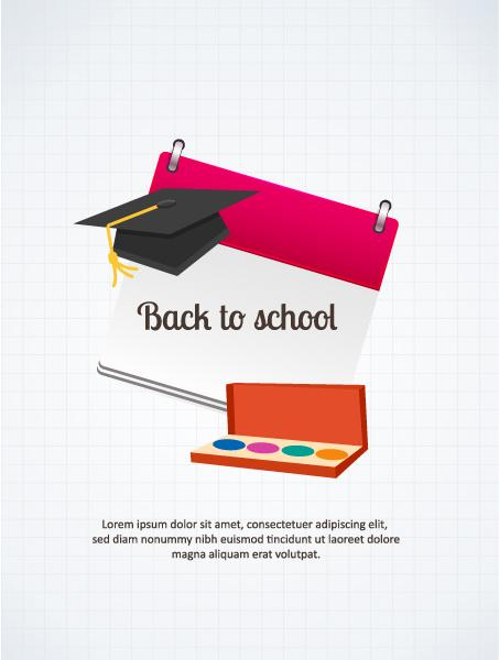 Back Vector Image Back To School Vector Illustration 5