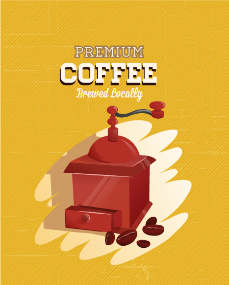 Coffee vector illustration 5