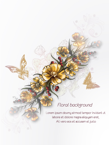 floral vector background 2015 08 377