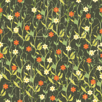 vector seamless floral background Vector Illustrations floral