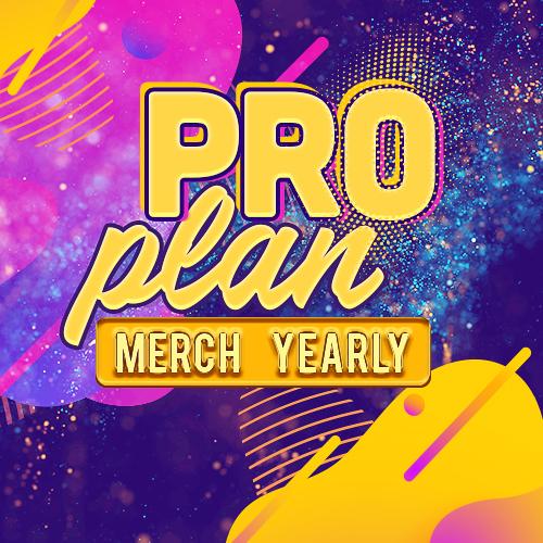 Pro Plan Merch Yearly Plus [tag]